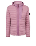 41225 LOOM WOVEN DOWN CHAMBERS STRETCH NYLON-TC Jacket in Rose Quartz