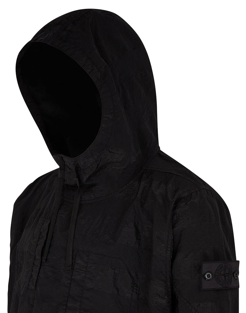 40301 ARTICULATED ANORAK in Black