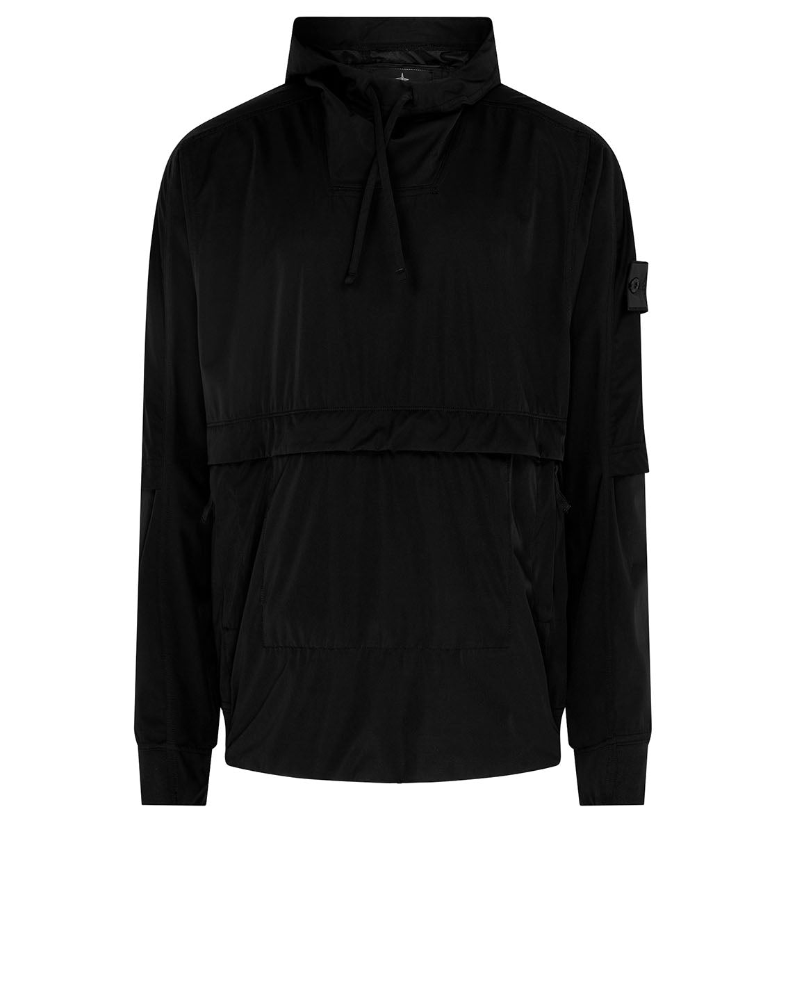 40504 PACKABLE ANORAK in Black