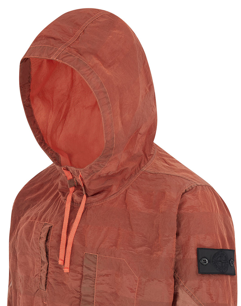 40301 ARTICULATED ANORAK in Salmon