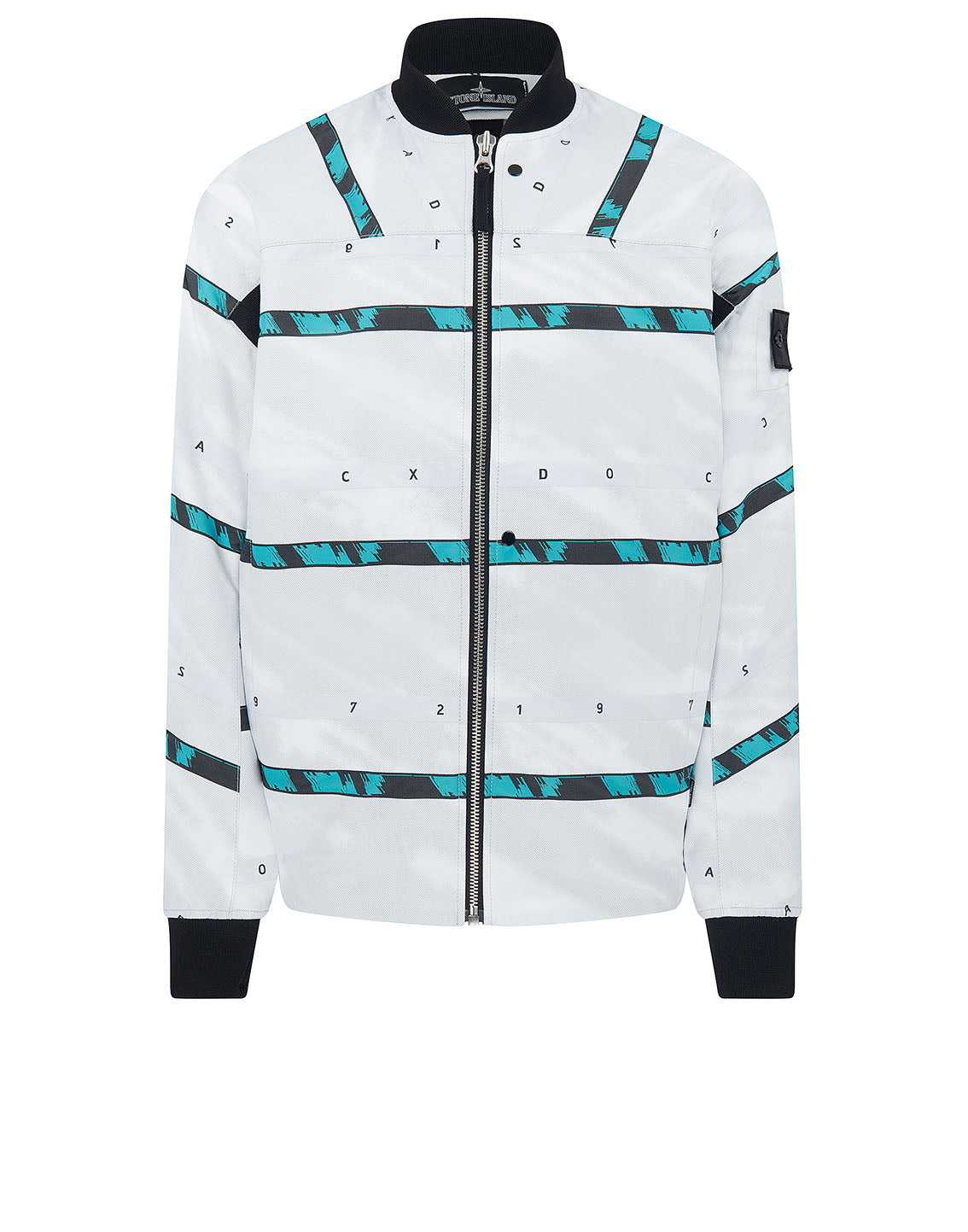 40812 BOMBER Jacket in White
