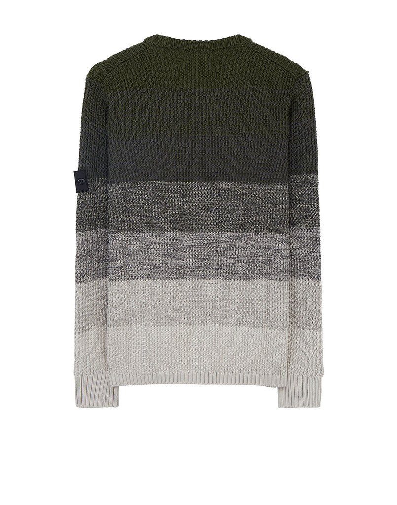 501A4 GRADIENT KNIT in Olive