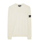 505A4 CATCH POCKET CREWNECK in White