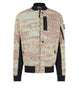 40412 BOMBER JACKET Jacket in Rust
