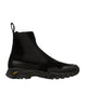 S0422 VELCRO FASTENED CHELSEA BOOT in Black