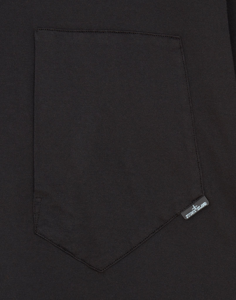 20214 Catch Pocket T-Shirt in Black