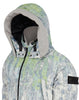 70612 FUNNEL HOOD PARKA WITH HAND GAITER in Pistachio