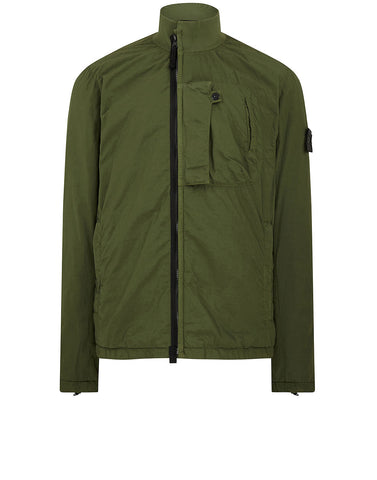 40703 NASLAN LIGHT TRACK JACKET in Bottle Green
