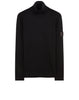 510A5 RIBBED TURTLE NECK in Black
