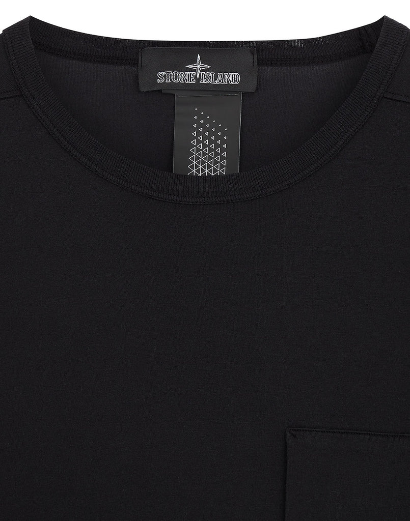 20210 MAKO JERSEY PRINTED LONG SLEEVE CATCH POCKET T-SHIRT in Black