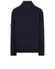 503D2 Contrast Mock Neck in Navy Blue