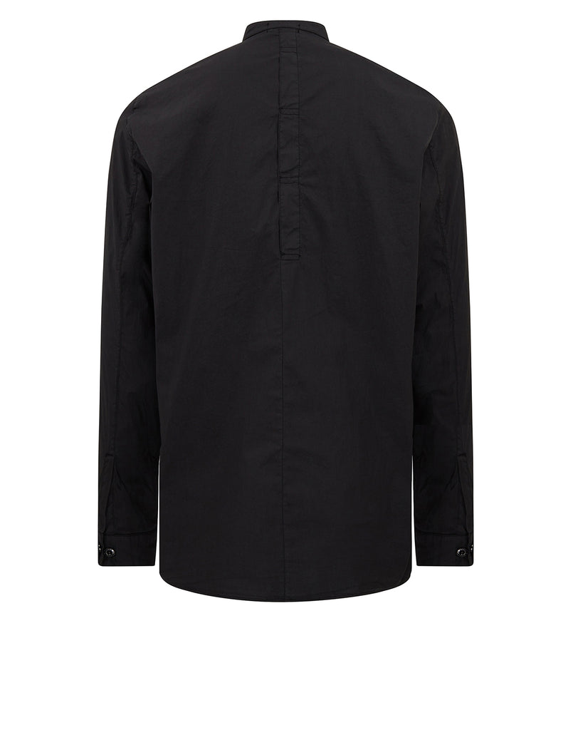 10206 NYCO POPLIN TUNIC SHIRT in Black