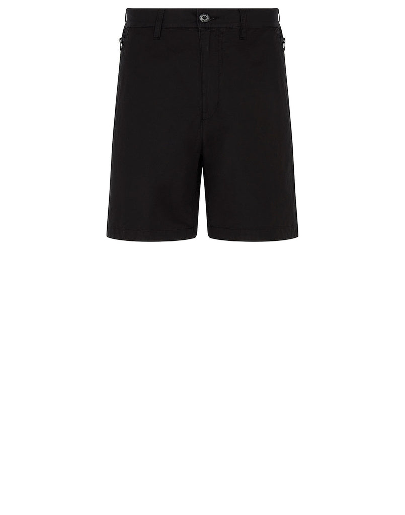 L0308 BERMUDA SHORTS in Black