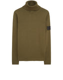 506A2 Turtleneck Knit in Military Green