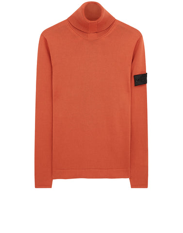 506A2 Turtleneck Knit in Rust