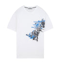 24682 PAINT STROKE 3 T-Shirt in White