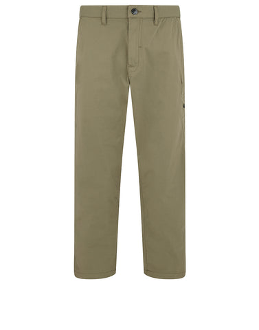30408 Wide Trousers in Military Green