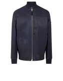 001ID BOMBER JACKET in Blue Stone Wash