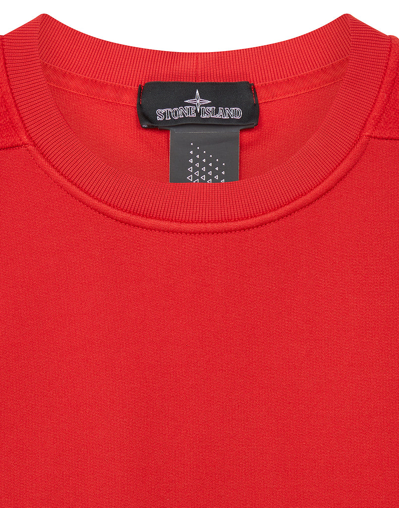60207 ENGINEERED PILL CREWNECK in Red