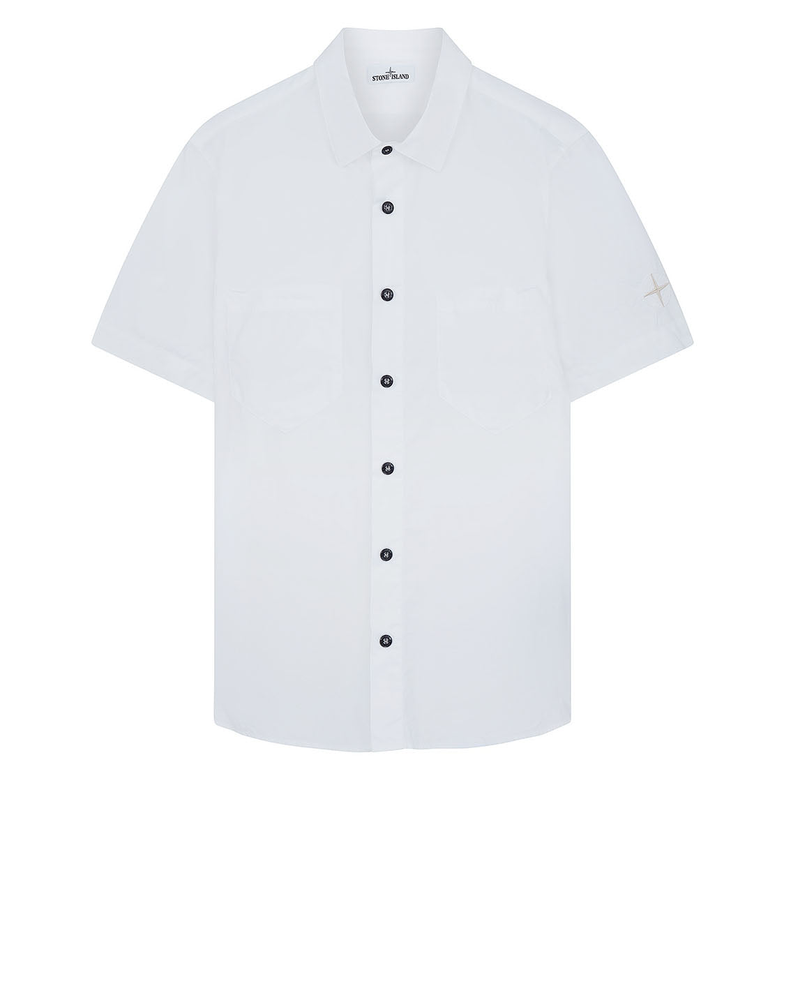12610 Short Sleeve Shirt in White