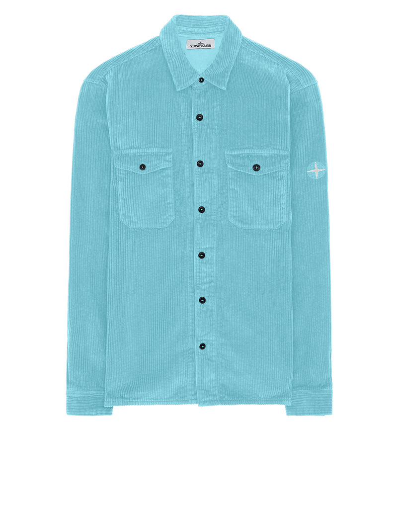 12111 Long Sleeve Shirt in Aqua
