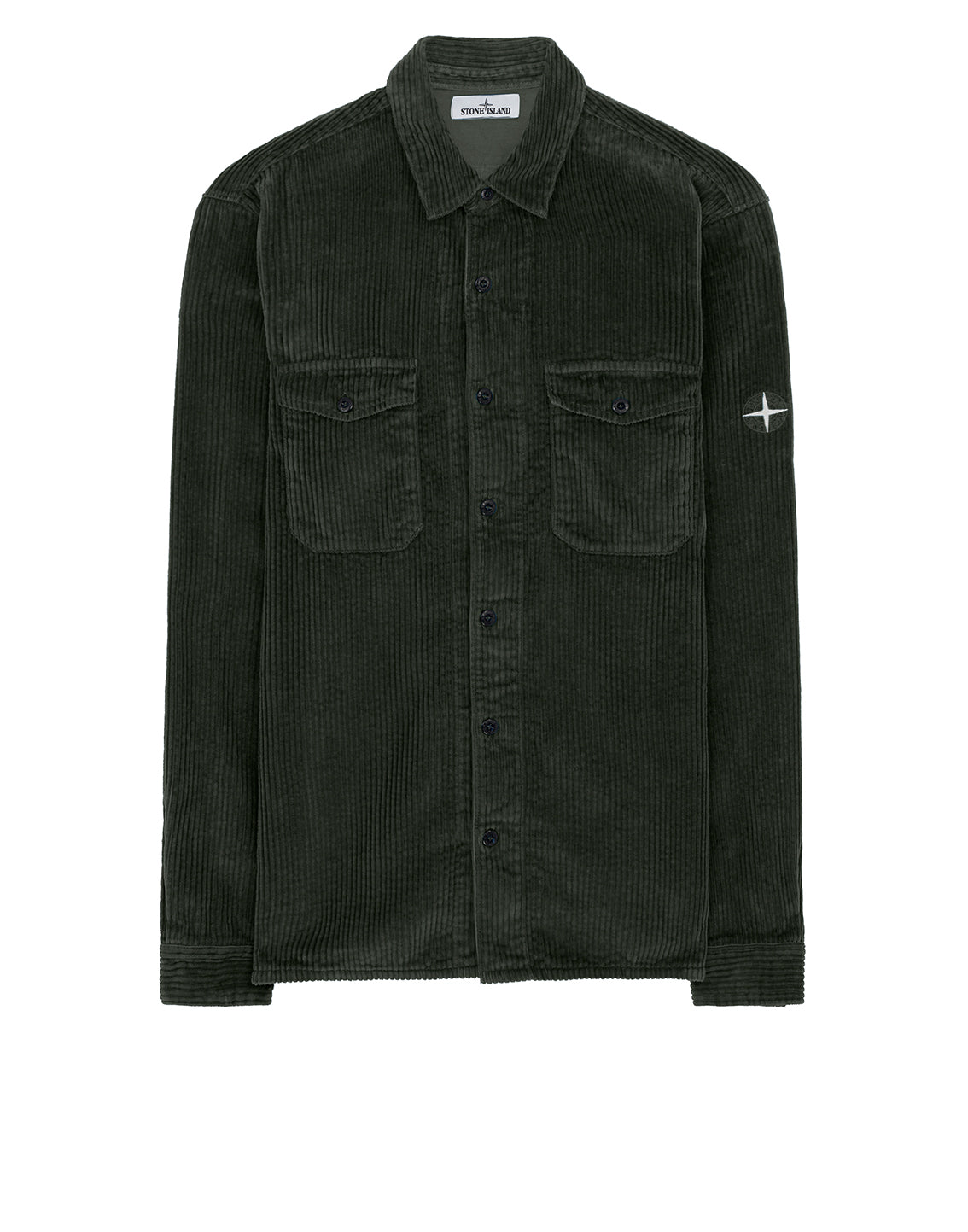 12111 Long Sleeve Shirt in Dark Forest