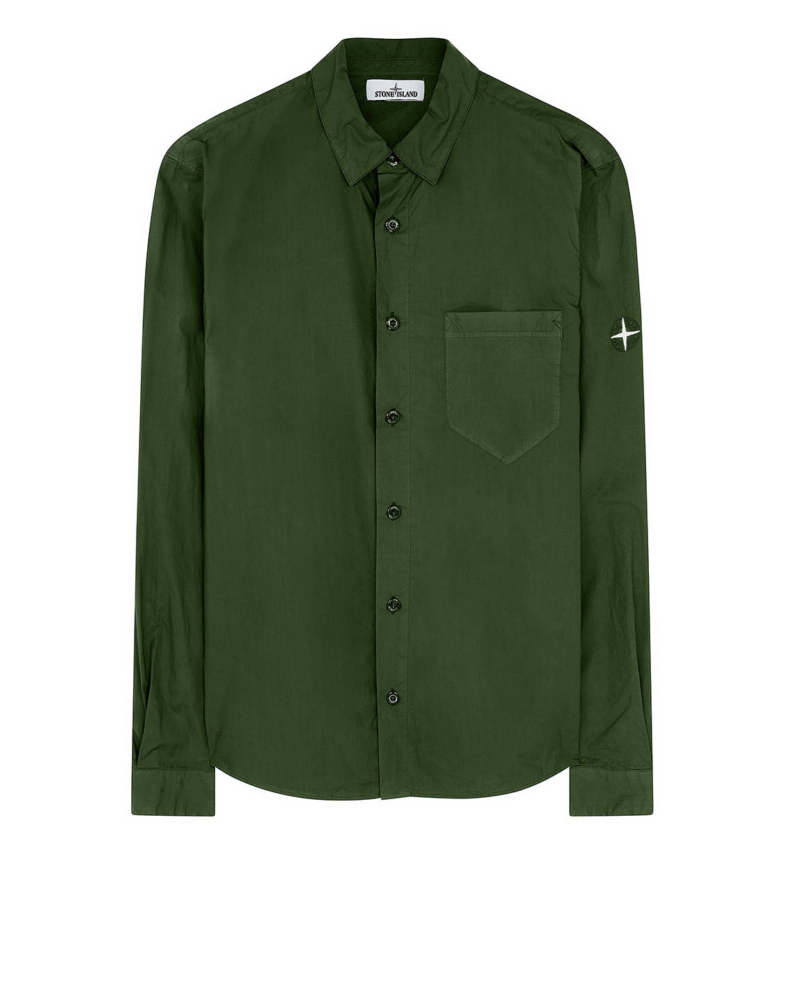 12501 Long-sleeve Shirt in Dark Forest