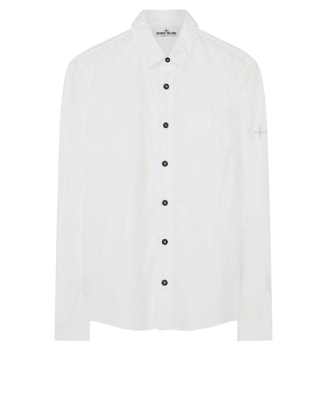 12501 Long-sleeve Shirt in White