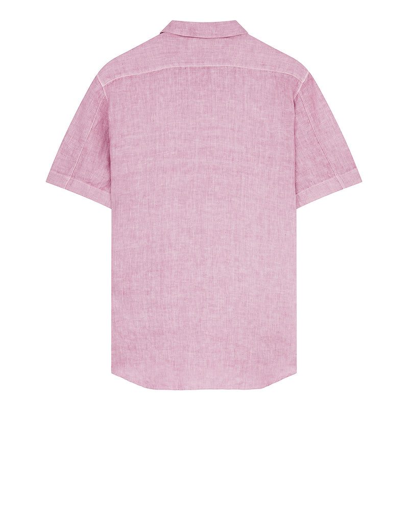 12601 'FISSATO' DYE TREATMENT Shirt in Rose Quartz
