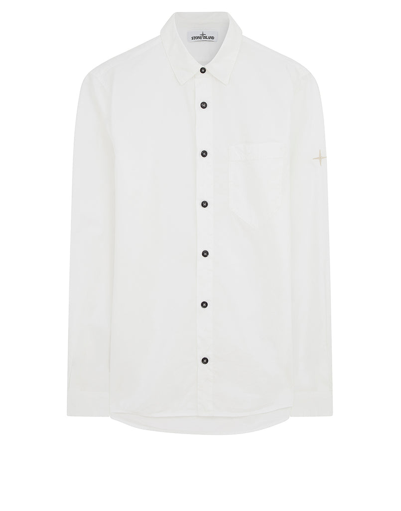 12501 Long Sleeve Shirt in White