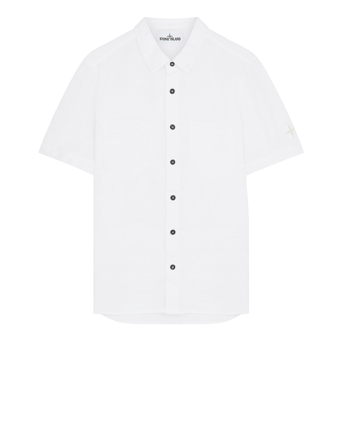 12601 'FISSATO' DYE TREATMENT Shirt in White
