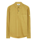 11601 Long Sleeve Cotton Shirt in Mustard