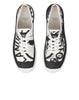 S0166 S.I. COMPASS LOGO Shoes in Black