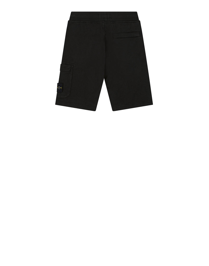 60740 Fleece Bermuda Shorts in Black