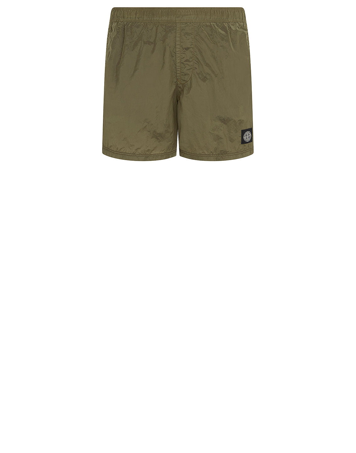 B0943 NYLON METAL Swim Shorts in Olive