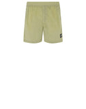 B0943 NYLON METAL Swimming Shorts in Lemon