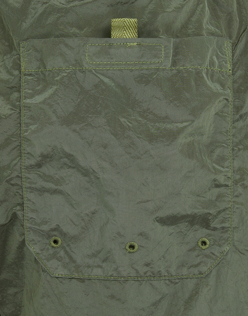 B0643 NYLON METAL Swimming Shorts in Olive