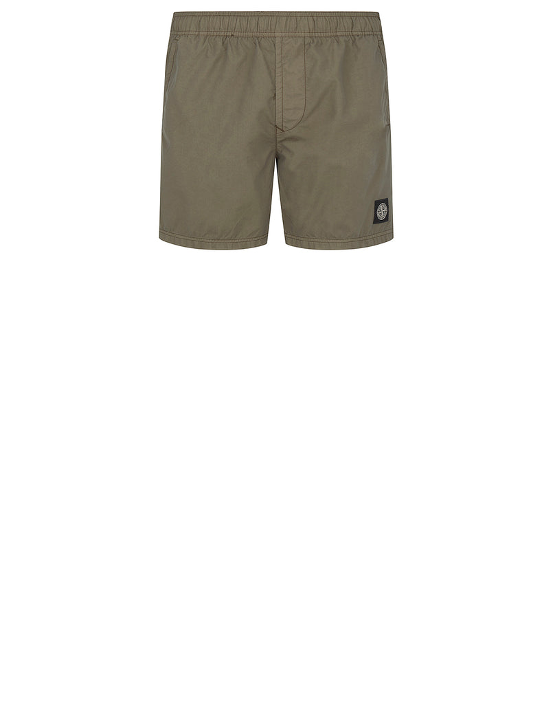 B0946 Swimming Shorts in Olive