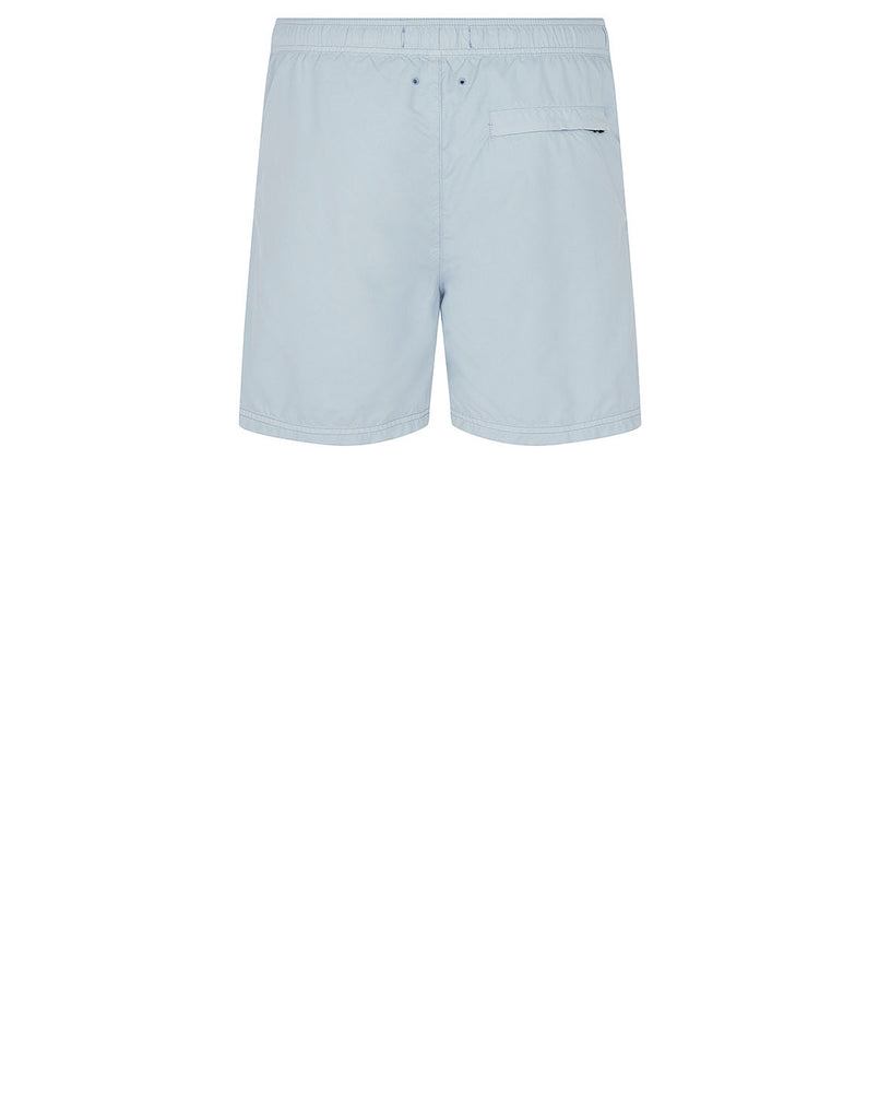 B0946 Swimming Shorts in Sky Blue
