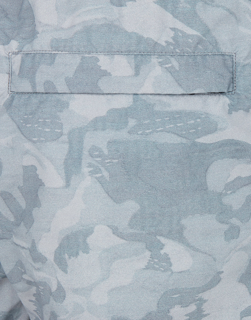 B09EA BIG LOOM CAMO Swimming Shorts in Sky Blue