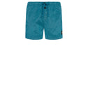 B0643 NYLON METAL Swimming Shorts in Turquoise
