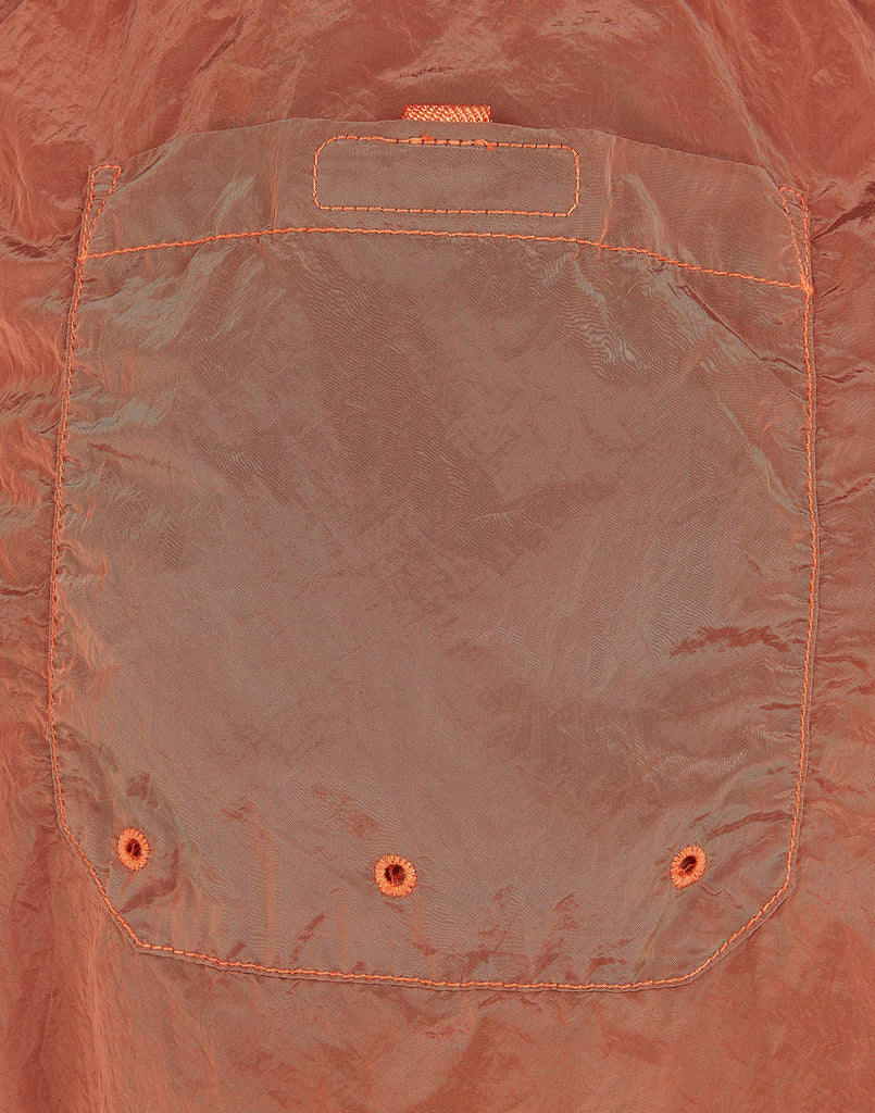 B0643 NYLON METAL Shorts in Rust