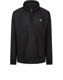 65136 NYLON METAL RIPSTOP Smock in Black