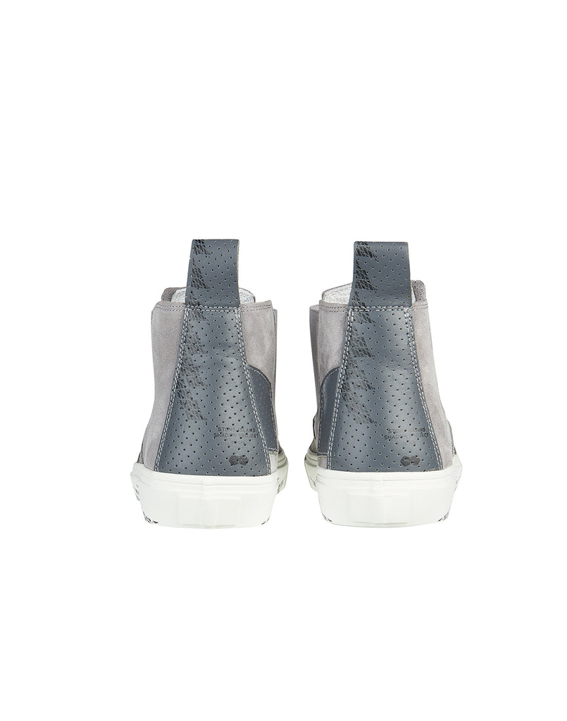 S0522 SLIP-ON MID Sneaker in Grey