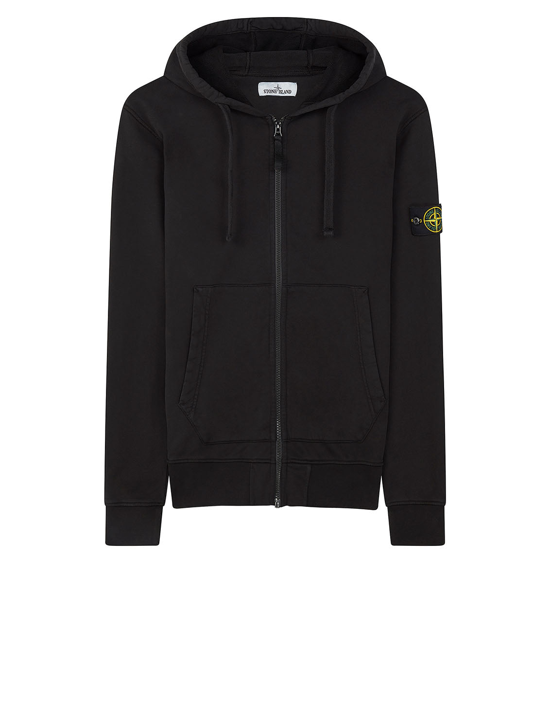 64251 Zip Sweatshirt in Black