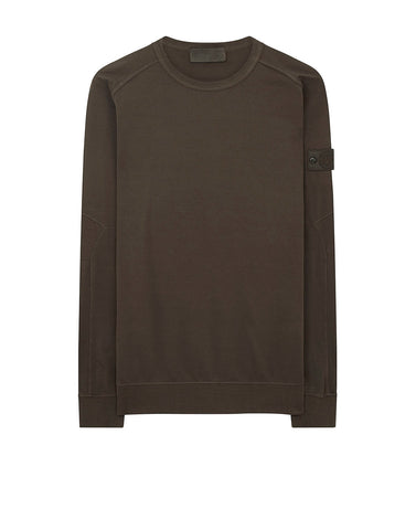637F3 GHOST PIECE Sweatshirt in Military Green