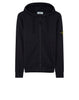 64251 Zip Sweatshirt in Navy Blue