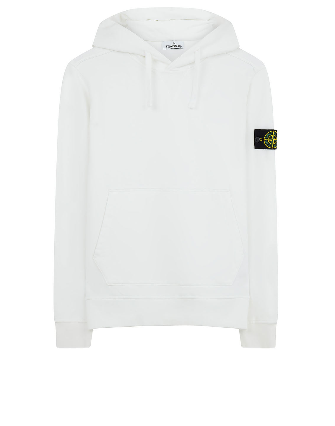 62851 Hooded Sweatshirt in White