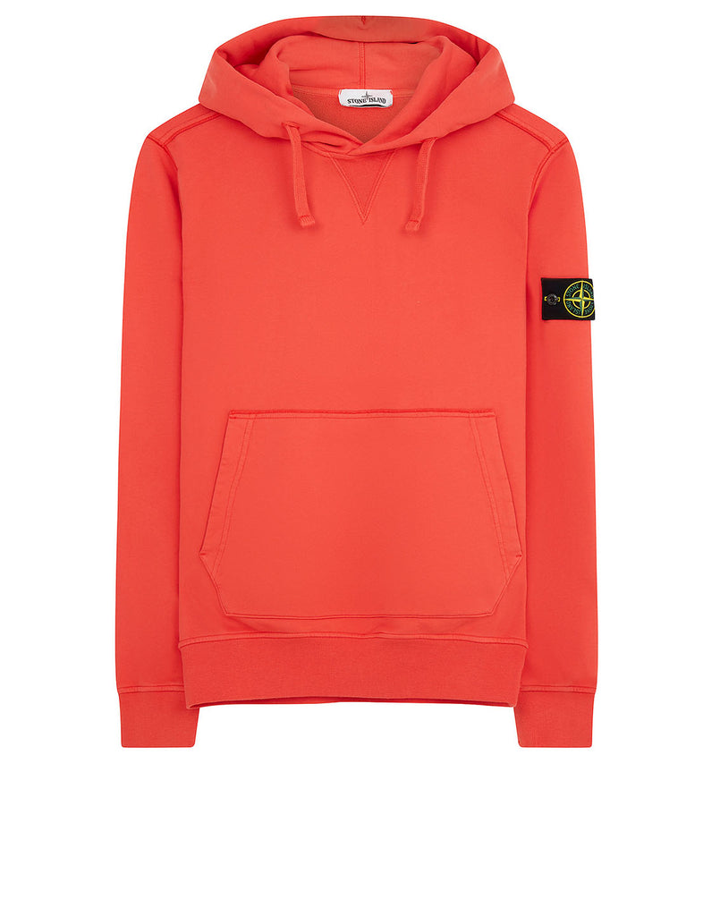 62851 Hooded Sweatshirt in Orange