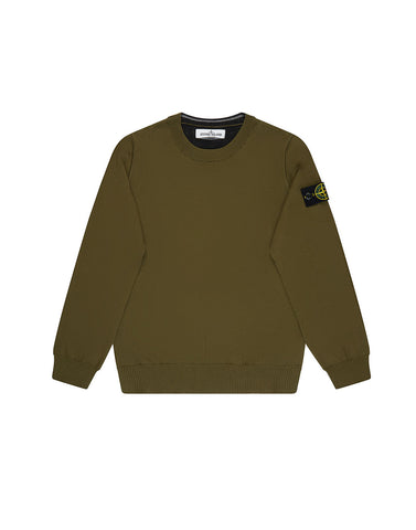 504A4 Knitwear in Military Green
